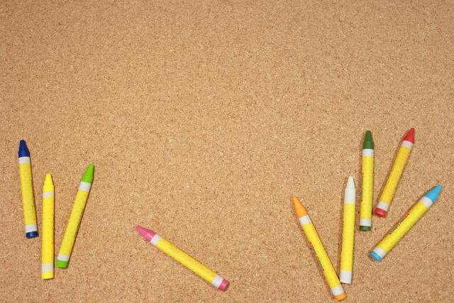 修復用のペン・クレヨンで修復する方法